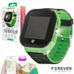 Smartwatch Forever Kids Kw-200 C/ Localizador Gps Green