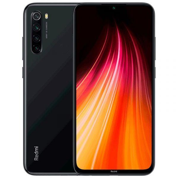 Smartphone Xiaomi Redmi Note 8 Dual SIM 4GB/64GB Black (Desbloqueado)