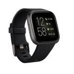 Smartwatch Fitbit Versa 2 Black / Carbon Aluminum - FB507BKBK