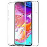 "Capa Samsung Galaxy A70 (Samsung A705) ""360 Full Cover Acrilica + Tpu"" Transparente"