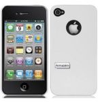 Case-Mate Capa Barely There para Apple iPhone 4 Glossy White - CM012044