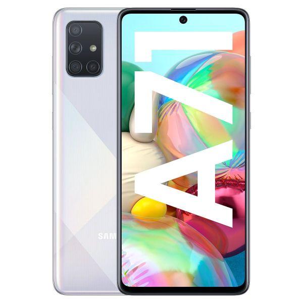 Smartphone Samsung Galaxy A71 Dual SIM 6GB/128GB SM-A715F Silver (Desbloqueado)