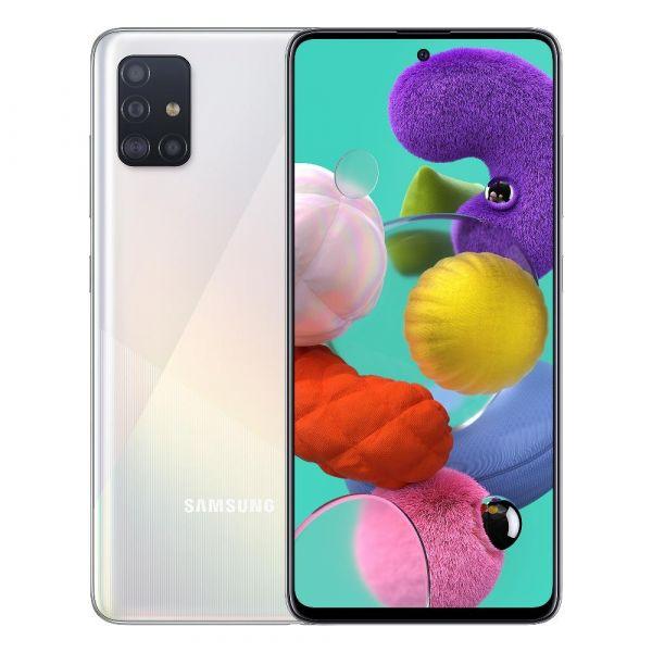 Smartphone Samsung Galaxy A51 Dual SIM 4GB/128GB SM-A515F White (Desbloqueado)