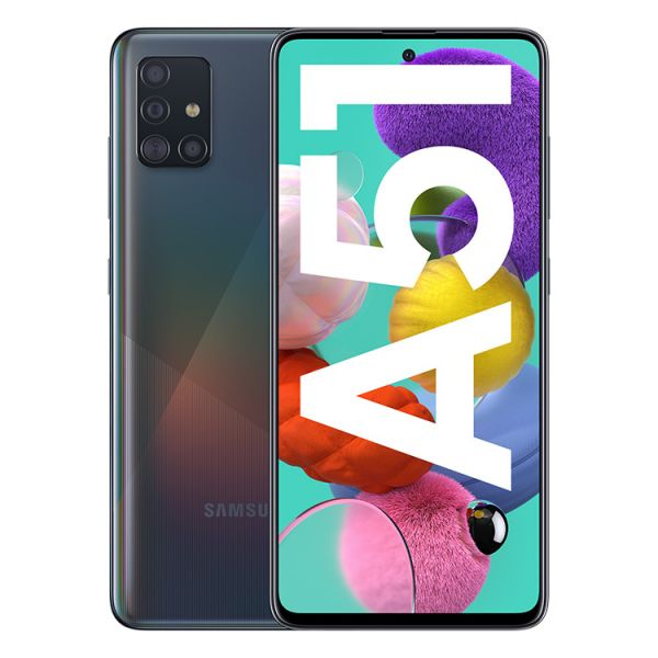 Smartphone Samsung Galaxy A51 Dual SIM 4GB/128GB SM-A515F Black (Desbloqueado)