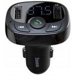 Baseus Carregador Isqueiro Baseus Transmissor FM Bluetooth 2-USB/3.4A