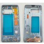 Chassi Carcaça Frontal Azul Samsung Galaxy S10 SM-G973F