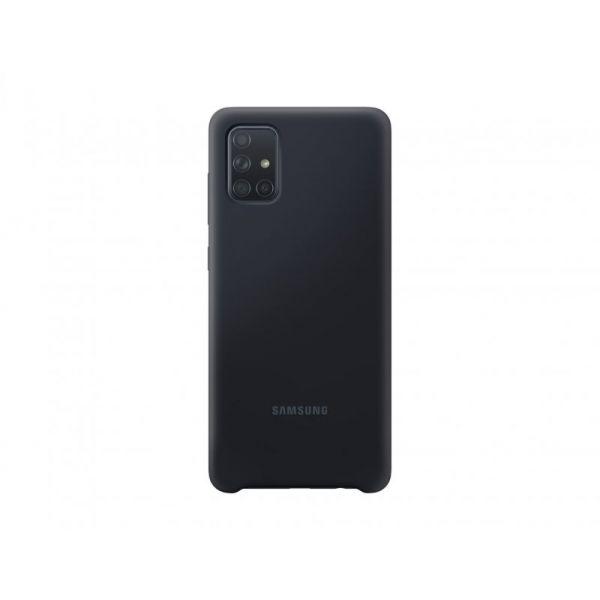 Samsung Capa Samsung Galaxy A71 Black - EF-PA715TBEGEU