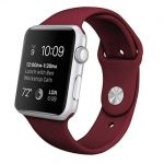 Cool Accesorios Bracelete Goma Bordeaux para Apple Watch 38/40 mm Series 1/2/3/4/5