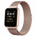 Smartwatch Forever Multifunções P/ Android iOS Rosa - SW-300RS