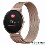 Smartwatch Forever Multifunções P/ Android iOS Rosa - SB-320RG