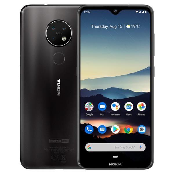Smartphone Nokia 7.2 Dual SIM 4GB/64GB Black (Desbloqueado)