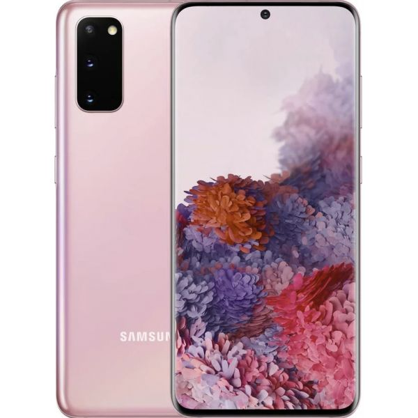 Smartphone Samsung Galaxy S20 Dual SIM 8GB/128GB SM-G980 Cloud Pink (Desbloqueado)