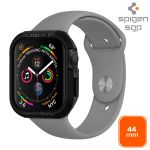 Spigen Capa Apple Watch 44 mm (Série 4) Bumper modelo Rugged Armor - BACK-RUGAR-BK-SW44