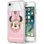 "Disney Capa Iphone 7, Iphone 8 ""Minnie"" Estrelas Licenciada Silicone Blister"