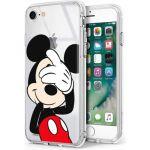 "Disney Capa Iphone 7, Iphone 8 ""Mickey"" Licenciada Silicone Blister"