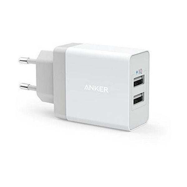 Anker Carregador 24W 2-Port USB Charger EU - A2021321