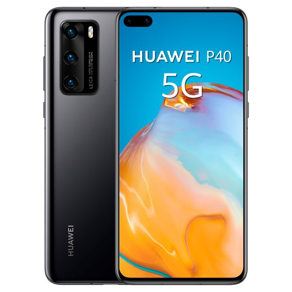 Smartphone Huawei P40 5G Dual SIM 8GB/128GB Black (Desbloqueado)
