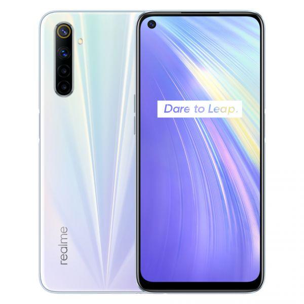Smartphone Realme 6 Dual SIM 8GB/128GB Comet White (Desbloqueado)