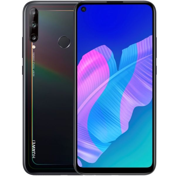 Smartphone Huawei P40 Lite E Dual SIM 4GB/64GB Black (Desbloqueado)