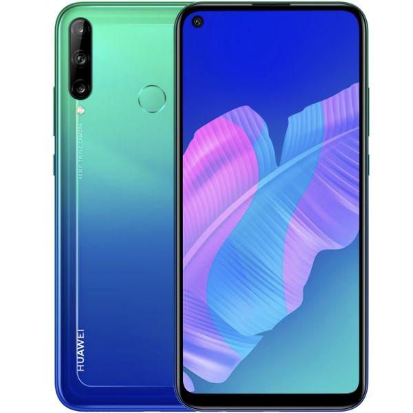 Smartphone Huawei P40 Lite E Dual SIM 4GB/64GB Aurora Blue (Desbloqueado)
