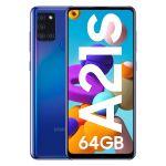 Smartphone Samsung Galaxy A21S Dual SIM 4GB/64GB Blue (Desbloqueado)
