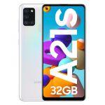 Smartphone Samsung Galaxy A21S Dual SIM 3GB/32GB White (Desbloqueado)