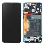 Huawei Conjunto Completo P30 Lite Ecrã Lcd Tactil Bateria 3340 Mah Original Azul - LCD-HWEI-BL-P30L