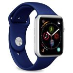Puro Bracelete Apple 42-44 Azul