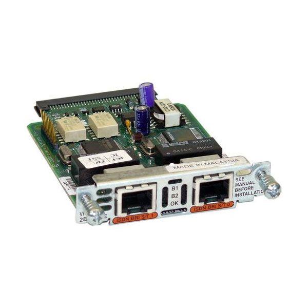 Cisco Carta de Interface de Voz com duas portas - VIC2-2BRI-NT/TE=