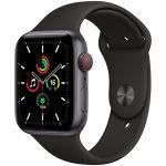 Smartwatch Apple Watch SE GPS + Cellular 44mm Aluminio Space Grey com Bracelete Desportiva Black - MYF02TY/A