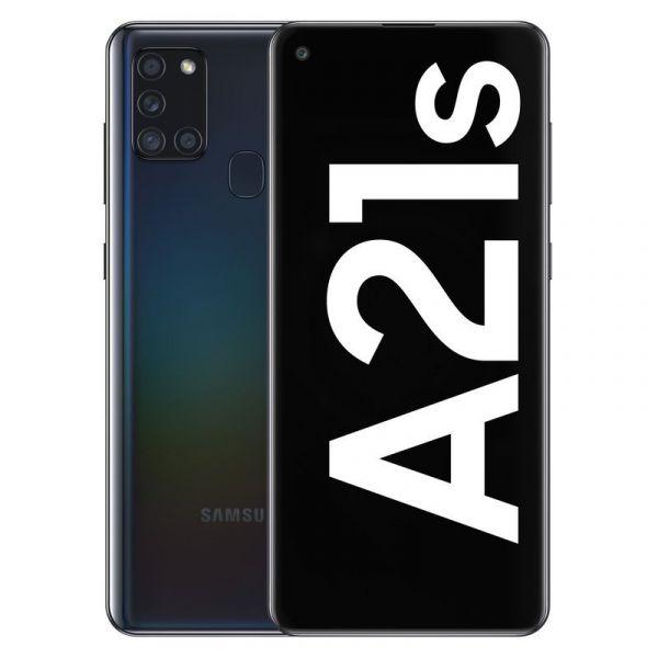 Smartphone Samsung Galaxy A21S Dual SIM 4GB/128GB Black (Desbloqueado)