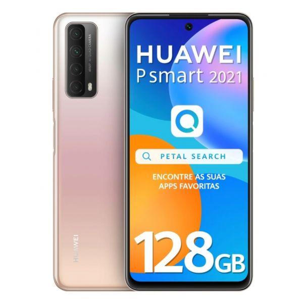 Smartphone Huawei P Smart 2021 Dual SIM 4GB/128GB Gold (Desbloqueado)