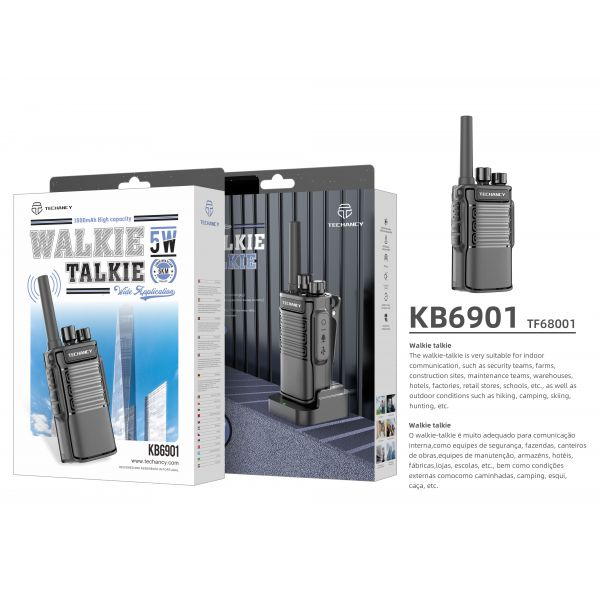 Techancy Walkie Talkie - TF68001