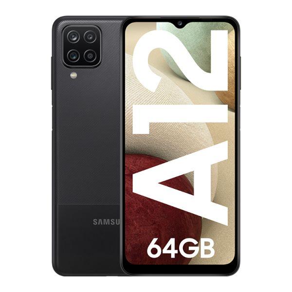 Smartphone Samsung Galaxy A12 Dual SIM 4GB/64GB Black (Desbloqueado)