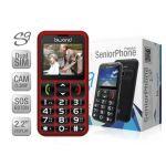 BIWOND SeniorPhone S9 Dual SIM Vermelho (Desbloqueado)