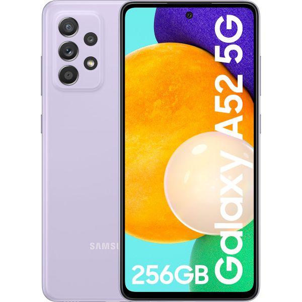 "Smartphone Samsung Galaxy A52 5G 6.5"" Dual SIM 8GB/256GB Violet (Desbloqueado)"
