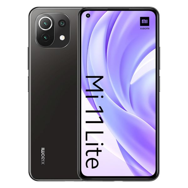 Smartphone Xiaomi Mi 11 Lite Dual SIM 6GB/128GB Black (Desbloqueado)