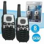 Intercomunicadores S/Fios 5km 8 Canais ZD-250