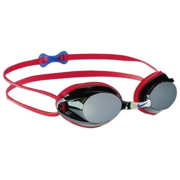 Nike Óculos de Natação 93011-627 Vermelho (Tamanho único)