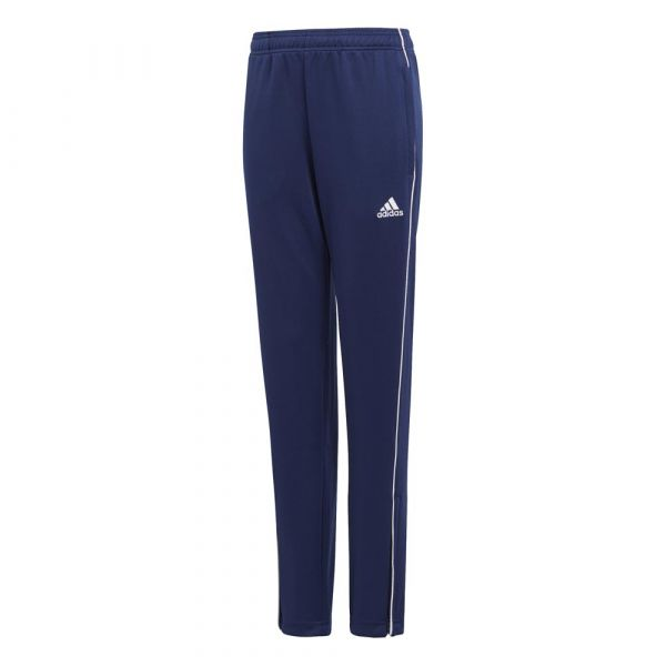 Adidas Calças Core 18 Training Pants Dark Blue / White 152