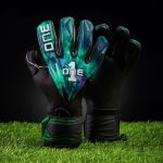 The One Glove Luvas de Guarda-redes Geo 2.0 Aurora Verde/preto - T1GGEO2AUR-8