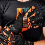 The One Glove Luvas de Guarda-redes Slyr Blaze Preto/laranja - T1GSLYRBLZ-8
