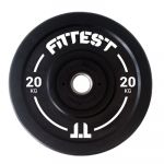 Fittest Equipment Bumper Black 20kg - BUMPBLL20