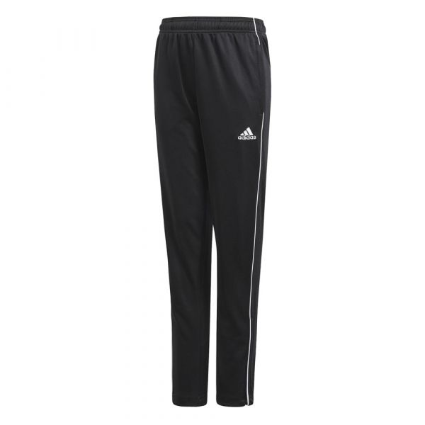 Adidas Calças Core 18 Training Pants Black / White 176 cm