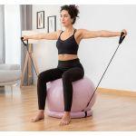 Bola Yoga c/ Anel Estabilidade + Bandas Resistência 65cm- IG00023