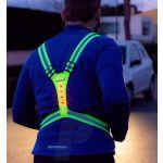 ProFTC Cinta/Colete de LED Refletor para Caminhada/Corrida - IG000160