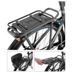 Xlc Transportador Carry More Baggage Holder Set Black Black
