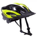 B-pro Capacete de Ciclismo com Viseira Amarelo / Preto 52-58 cm