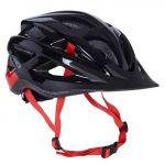 B-pro Capacete de Ciclismo Unissexo Performance Preto / Vermelho 54-58 cm