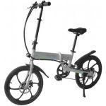 "SmartGyro Ebike Crosscity Bicicleta Elétrica Dobrável 20"" Silver - SG27-166"